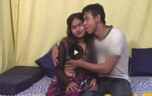 Indian homemade porn clip with a thirsty wife