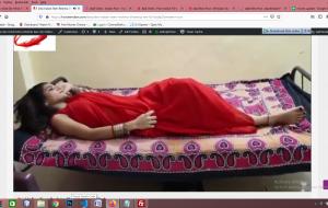 Desi Indian Teen Reshma Showing Her Ful Body