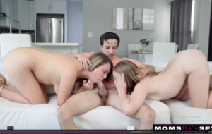 -His Dick Is Huge I Just Want To See It- Tough Love Threesome Fuck S12-E2