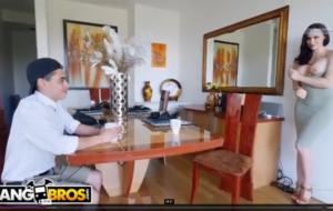BANGBROS – Cougar Mom Chanel Preston Fucks Daughter's Boyfriend
