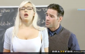 Brazzers – Big Tits at School – Math Can Be Stimulating scene starring Kylie Page and Charles Dera