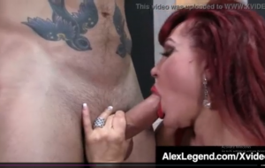 Almost Granny Sexy Vanessa Pounded By Fat Cock Alex Legen.