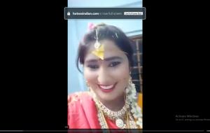 Swathi naidu latest videos while shooting dress change part -4