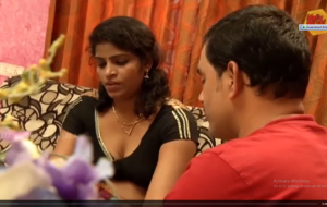 South Indian Housewife Romance with Friend Husband for Money.