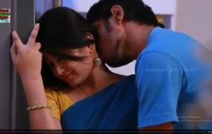 Romantic Telugu couple.
