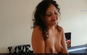 Red saree Bhabhi caught watching porn seduced and fucked by Devar dirty hindi audio desi chudai