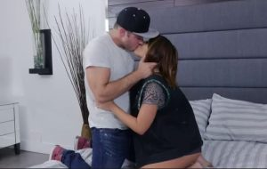 Adriana Chechik fucking in the bedroom with her small tits