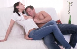 FIRST ANAL FUCK WITH THE ADORABLE AND SEXY LEXY FOX