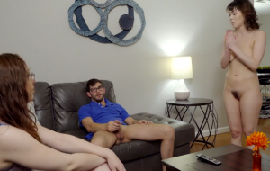 Mom helps shy couple to get more relaxed