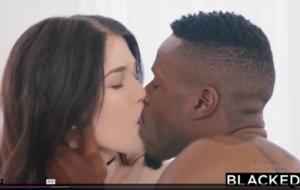 BLACKED Hot Student Fucks Boyfriends BBC Roommate