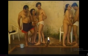 Desi wife swap gangbang group sex