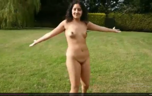 Real sex in public park with creampie