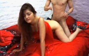 Sexy young girl loves to fuck hot and dance like a horny dog