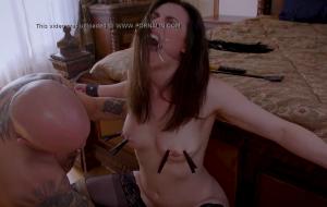 Submissive Teen's Torrid Taboo Bdsm Encounter