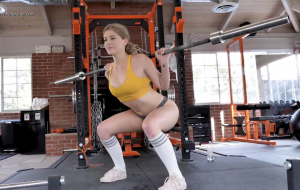 Wife's Sunday Lonely Gym Workout Turns To A Good Fuck From Trainer