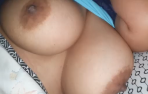 I handle my sister-in-law's tits while sleeping (Slow motion)