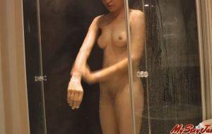 Indian College Girl Jasmine Mathur Taking Shower