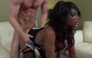 Indian Courtesan Priya Rai Is Belted By Insatiable Male With Impressive Dong