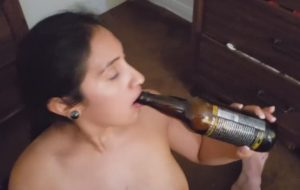 indian cutie gets a massiv sperm discharge