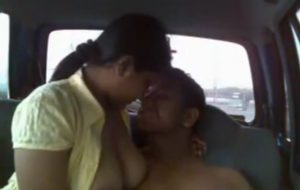 indian fuck in car