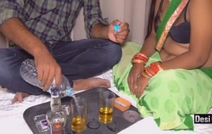 Indian Randi Enjoy Sex With Drink At Farmhouse