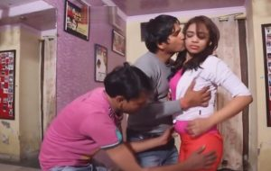 Desi dance student exploited by Two fellows