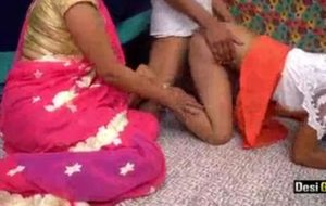 Bhabhi Got Her Husband's Sister Fucked By Own Lover