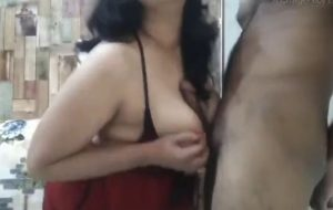 Excited Indian MILF analyzed by imperious husband