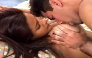 Extraordinaire Fat tit Indian lady blowing and pounding