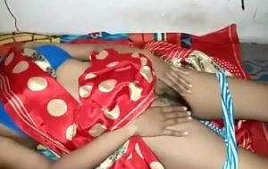Indian StepMoM with Son In saree Wath
