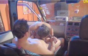 Indian bhabhi car bang-out