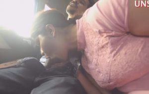 Desi Bhabhi Sex In Car Giving Deep Throat Blowjob