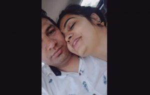 Desi Punjabi Bhabhi Sex MMS Filmed In Car