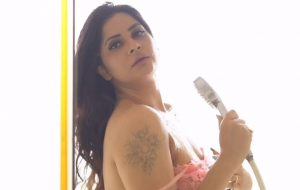 Hot Desi Bhabhi Sex Playing With Water In Shower