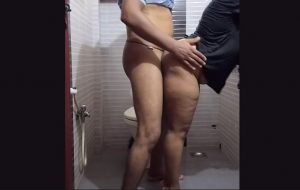 Indian Bhabhi Blowjob In Shower And Fucked Hard