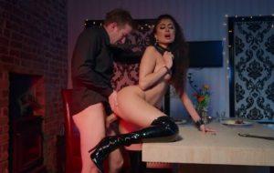 Amazing babe Marina Maya is taking hard dick from behind