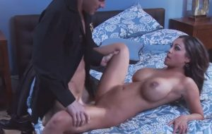 Curvy Indian mommy getting fucked by a kinky cop