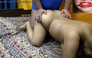 Pussy fucking of big boobs horny woman