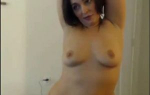 SEXY Curvey Visar Upp Porn Video