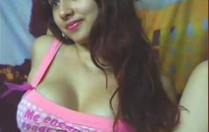 Sexy Indian Slut Bounces Perfect Tits On Webcam
