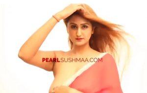 red saree pearl sushmaa indian samirb production