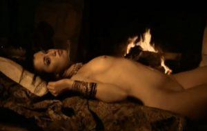Beautiful Brunette Girl Hot Body
