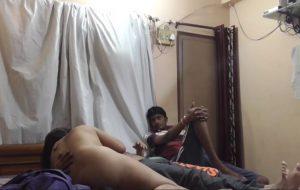 Indian sexy wife shared with brother, Poti ko shamne chuda