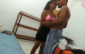 Collage chick Desi mms In hostel
